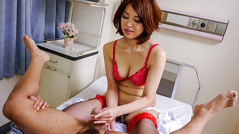生ハメ淫乱爆乳ペニバン女医~西野...