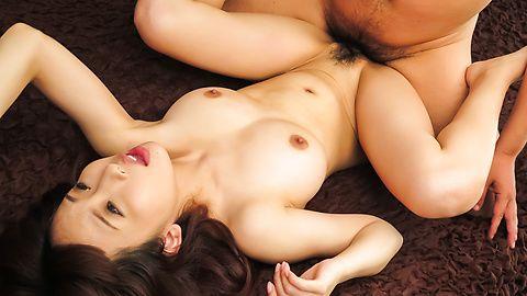 Sensual Yui Misaki enjoys cum down her pussy