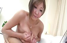 Busty Hiyoko Morinaga Teaches the Art of Tit Fucking japanese girls, nude asian girls