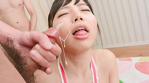 Asian blowjobjob by naughty Asian chick Sayaka Takahashi