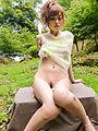 Japanese outdoor porn show with bustyMikuru Shiina Photo 10