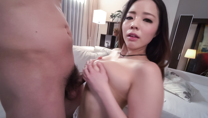 Sweet Asian blowjob scenes with bustyMimi Aku