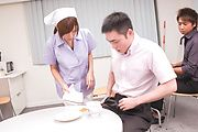 Asian gangbang to delight Asian nurse with rivers of jizz Photo 6