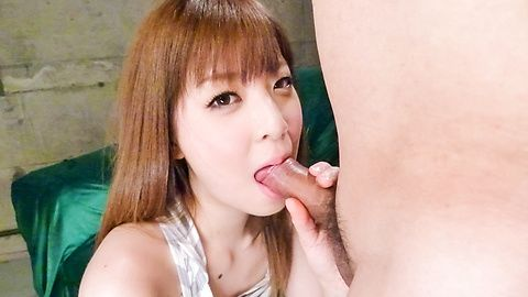 Marin Omi's asian blow job earns...