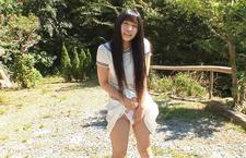 Yui Kasugano Japanese street sexy posing