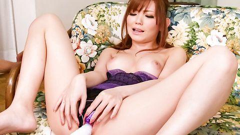 Vibrator jammed pussy and facial bukake Megu Kamijyo