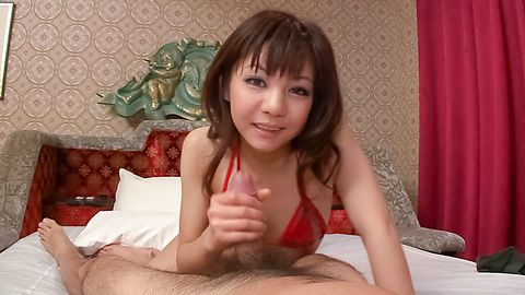 Lovely and cock craving babe cock...