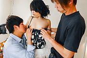 Premium Japanese gangbang alongRei Asamiya Photo 1