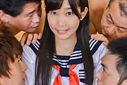 Sweet Japanese gangbang along Yui Kasuganoq Photo 4