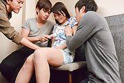 Mind blowing Asian gangbang xxx with Nana Nakamura Photo 2