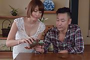 Asian milf, Seira Matsuoka, enjoys cock in hardcore  Photo 1