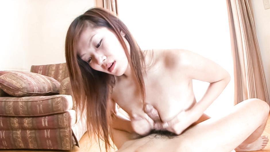 Kaede Ichijou Tit Fucks Two Guys With Her Big Boobs