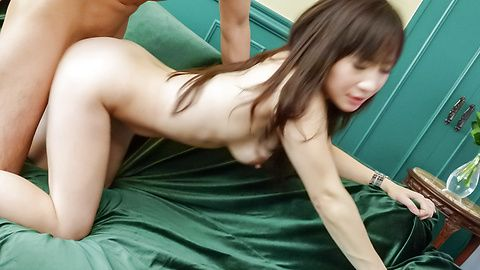 Horny MILF Yuwa Tokona loves to...