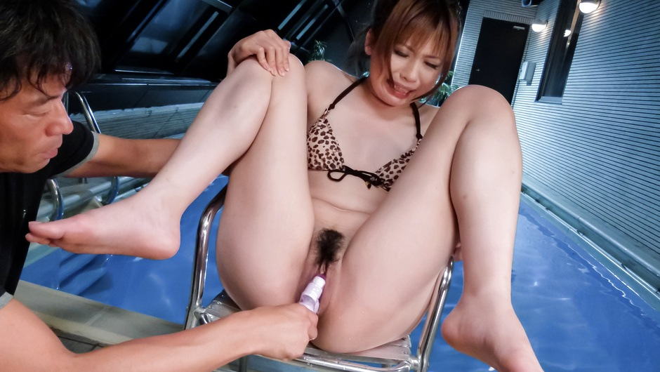 Adorable Mami Yuuki receives warm stimulation