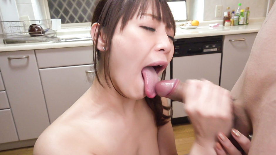 Superb Nanami Hirose amazing Asian blowjob