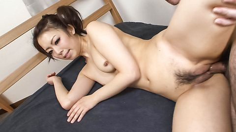 Yuki Asami has hairy twat in...