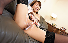 Four assist Jun Kusanagi in her not so solo play japanese nudes, asian girls nude