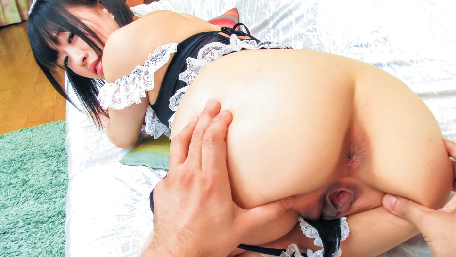 Japanese milf Yui Kyouno having her pussy nailed right