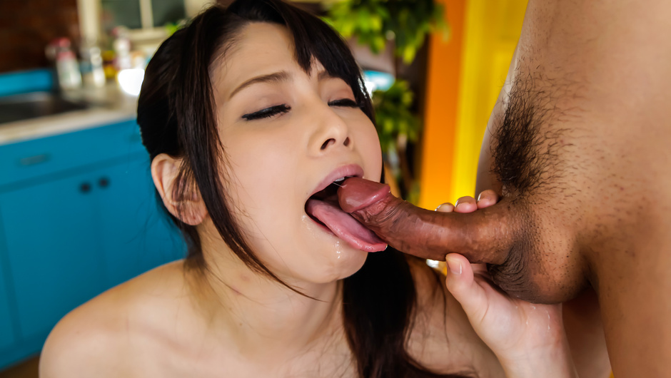 Warm Asian blowjob by insolent Miyu Shiina