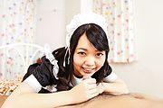 Japanese stocking porn with hot maid, Hikaru Morikawa Photo 4