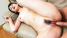 Japan blow job by steamy Asian doll Sakura Aida