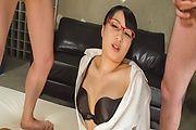 Kokona Sakurai amazes with a nasty Asian blowjob Photo 9