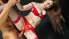 Amazing Japanese girl handjob with Rion Ichijo