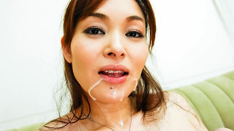 Hitomi Kanou licks and strokes two tools asian pussy, asian tits, naked japanese girls
