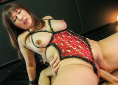 Reiko Shimura loves to be fucked for asian creampies