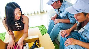 Sweet Asian girls blowjob by naughty Ryu Enami