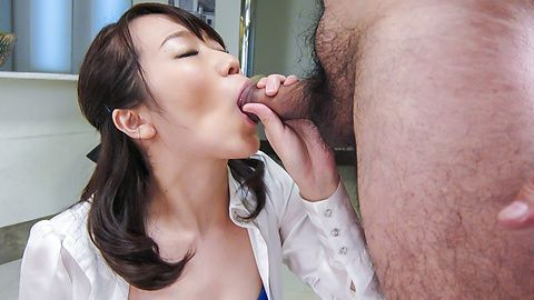Facial Asian cum shot after...