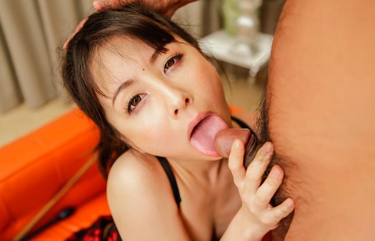 Hottie in Asian stockings, Ayumi Iwasa, fucking like crazy asian tits, japanese porn, asian girls