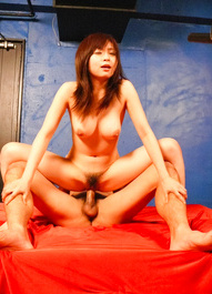 Nozomi Hazuki Asian is fingered by men whose tools she sucks