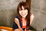 Asian milf,Karen Natsuhara, obeys in nasty porn play Photo 2