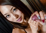 Smiling MILF An Yabuki gives a hot...