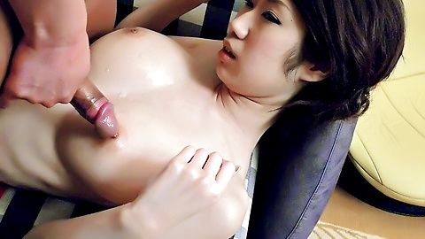 MILF Huuka Takanashi hot big tit fucking