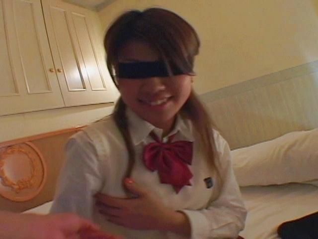 Asian blowjobs by kinky Japanese schoolgirl Miho Photo 6