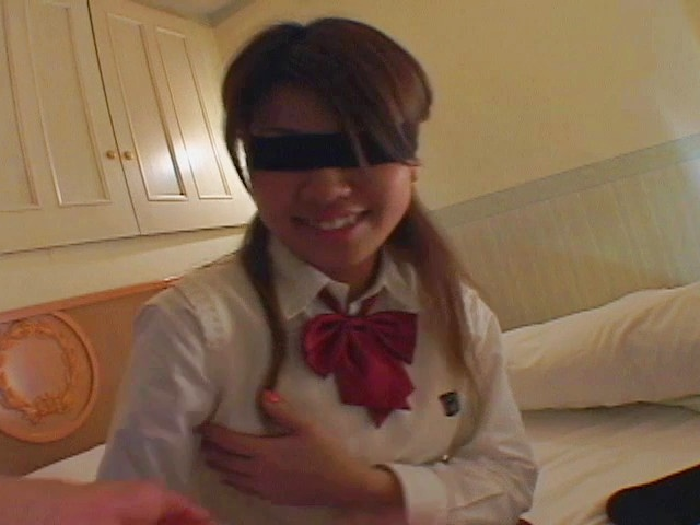 Asian blowjobs by kinky Japanese schoolgirl Miho Photo 8