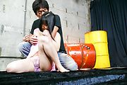 Chiharu has many cocks to give a blowjob to Photo 3