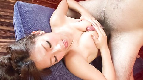 Sexy Satomi Suzuki is fucked hard by a big dick