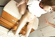Gorgeous Curvy Teen Yui Misaki DPed And Creamed Photo 12