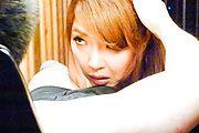 Mind blowing scenes of Asian blowjob withChieri Matsunaga Photo 4