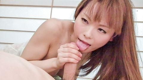 Anri Sonozaki amazes with full...