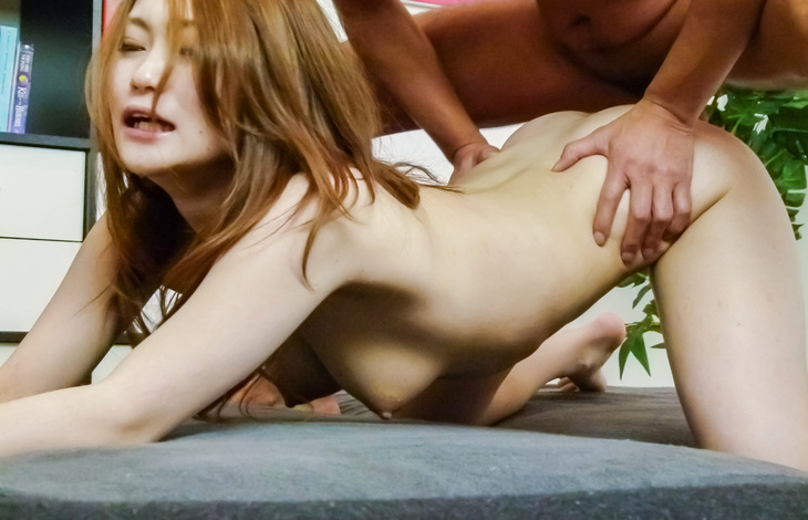 Long haired japanese av model Yayoi Orikasa creampied asian tits, asian babes, nude japanese women