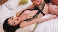 Big tits milf enjoying naughty anal masturbation