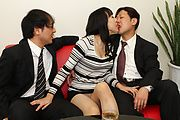 Miho Wakabayashi Fucked And Cream Filled In A Threesome Photo 3