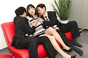 Miho Wakabayashi Fucked And Cream Filled In A Threesome Photo 4