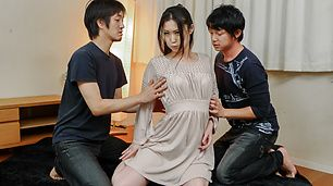 Naomi Sugawara takes asian anal and some DP sex