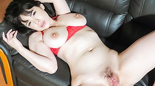 Busy Koyomi Yukihira gets fucked and made to swallow