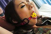 Perfect Japanese toy play with big tits Reon Otowa Photo 4